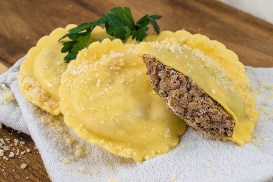 Beef Ravioli – Three Inch Round