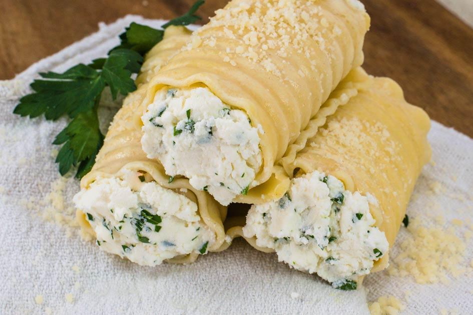 Cheese Lasagna Rolls