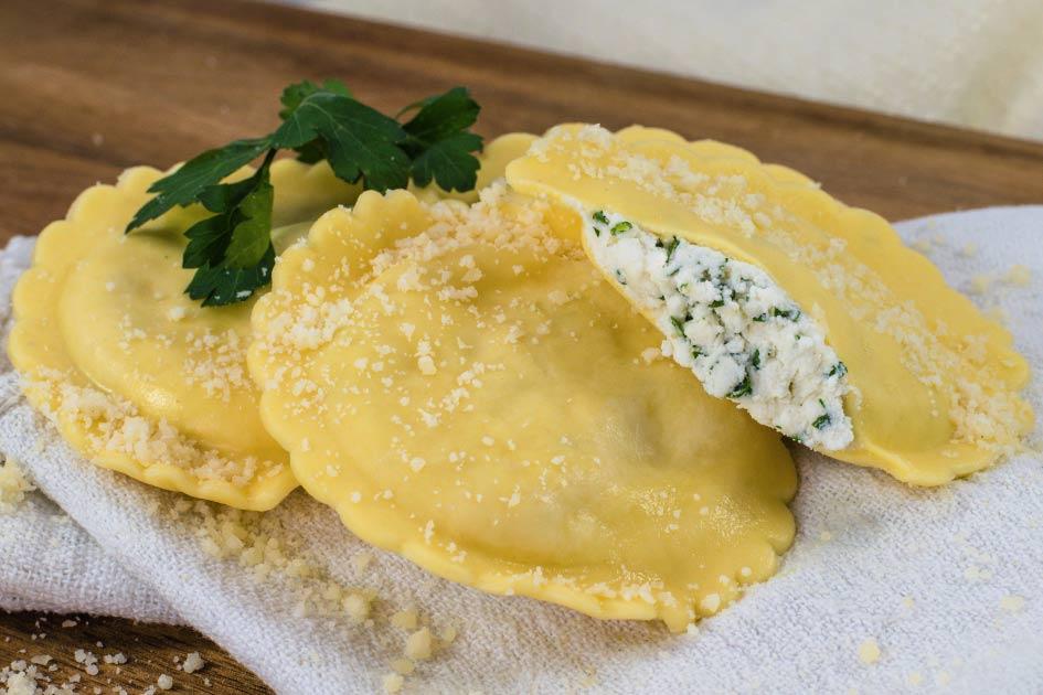 Cheese Ravioli – Three Inch Round