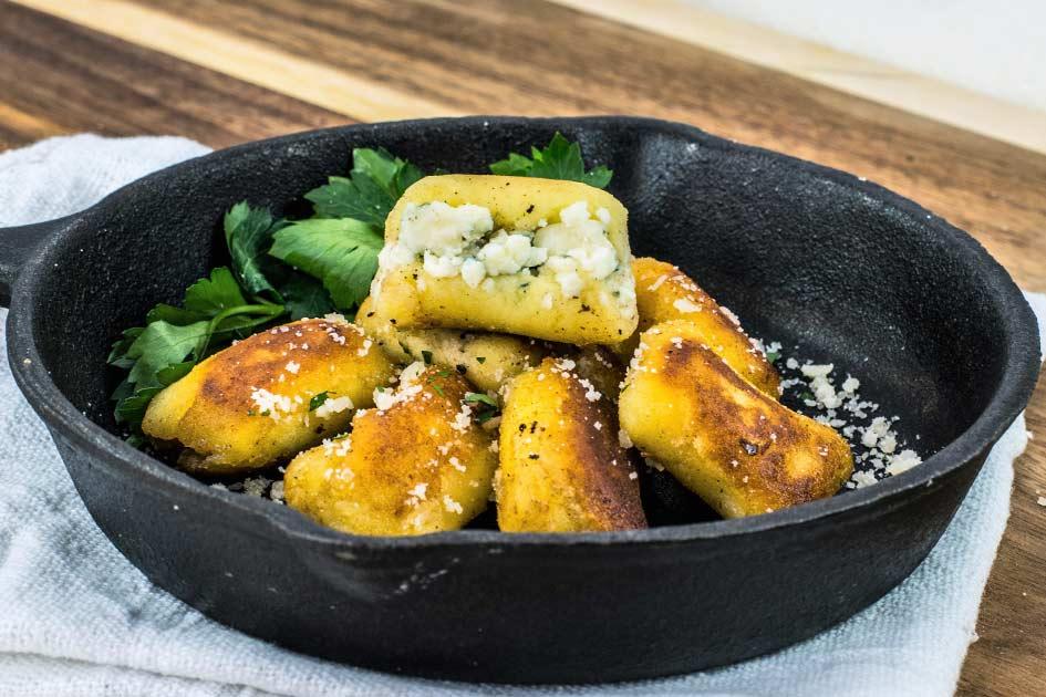 Gorgonzola Stuffed Gnocchi