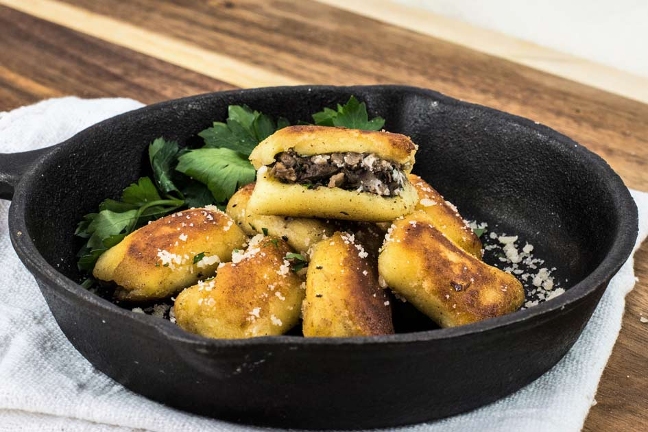 Portobello Stuffed Gnocchi