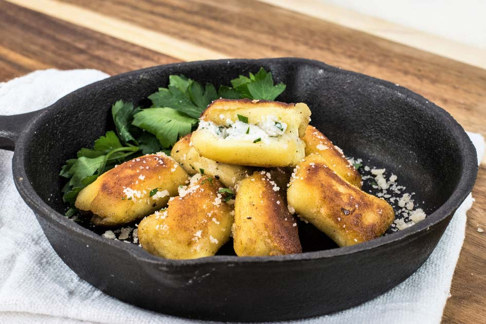 Ricotta Cheese Stuffed Gnocchi