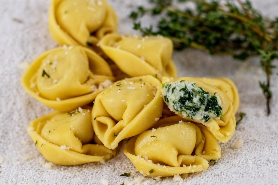 Spinach Tortellini